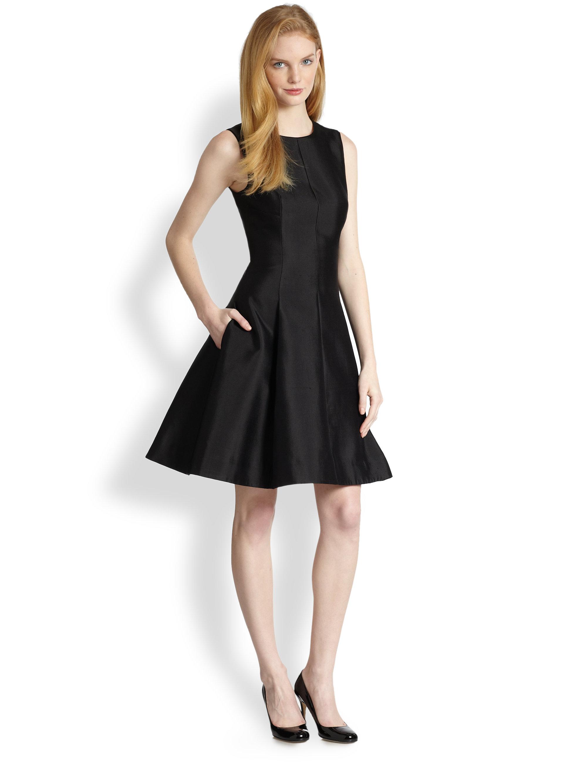 Kate spade new york Emma Dress in Black | Lyst