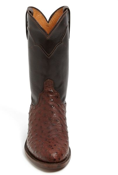 Leather Boot in Black For