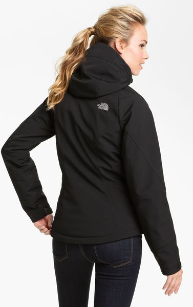 the north face apex elevation jacket in black lyst