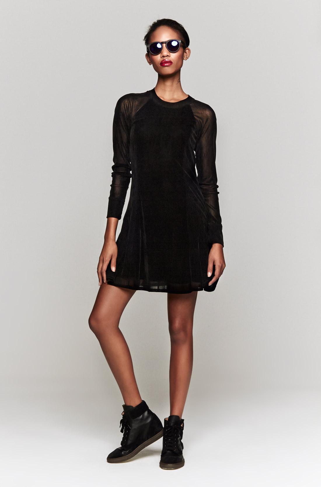 3afb526845 Theyskens' Theory Chupi Dress in Black - Lyst