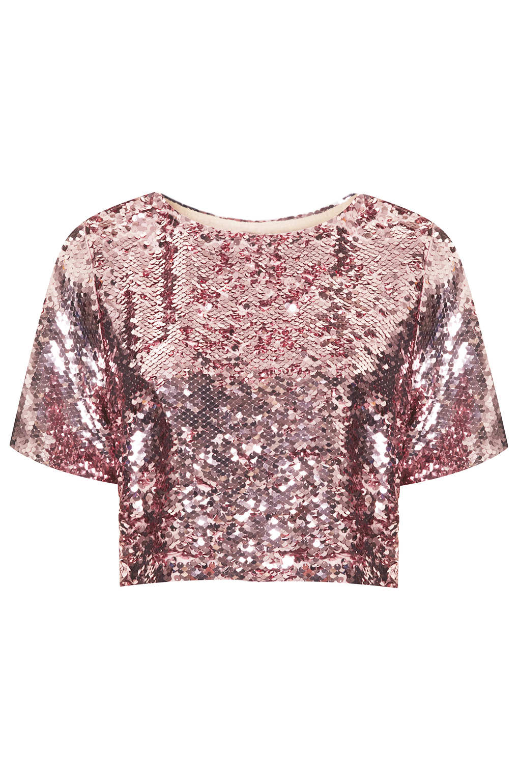 Pink Sequin Shirt | Artee Shirt