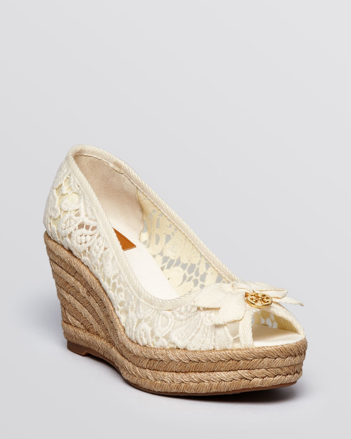 sale get to buy discount recommend Tory Burch Lace Platform Pumps new arrival for sale outlet online shop outlet visa payment urw8lSfuZ8