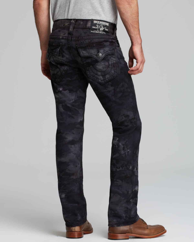 True religion Jeans Ricky Big T Camo Military Tiedye ...