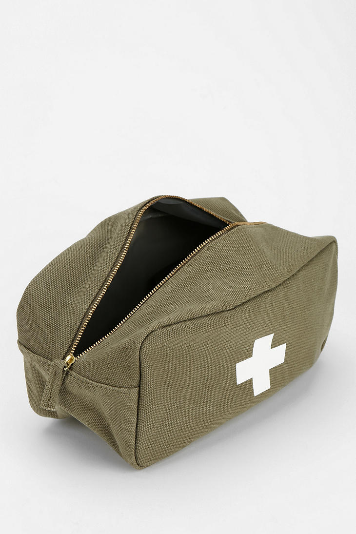 Lyst - Urban outfitters Izola Cross Toiletry Bag in Green
