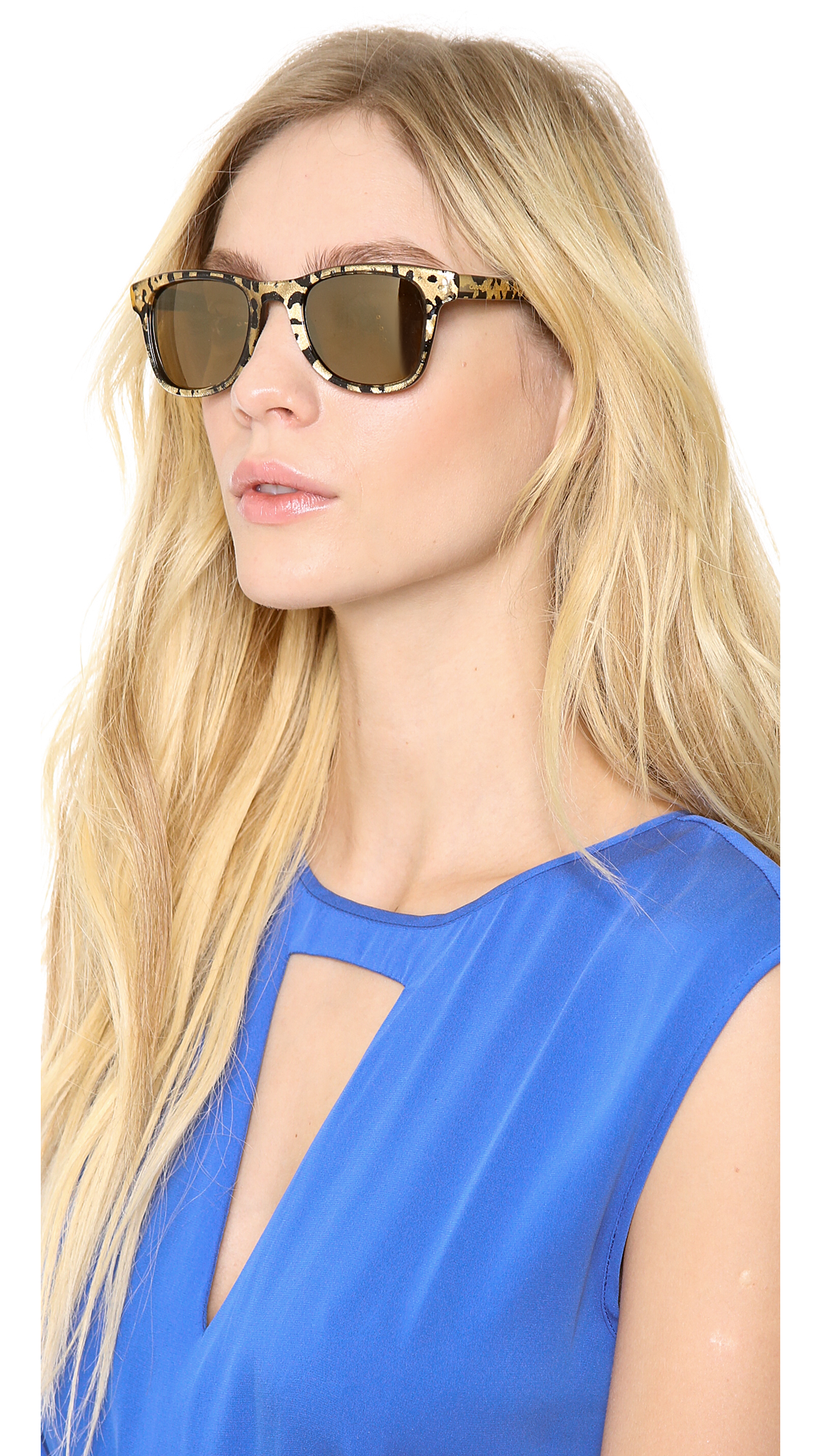 21cd7c117bc8 Carrera By Jimmy Choo Panther Sunglasses in Brown - Lyst