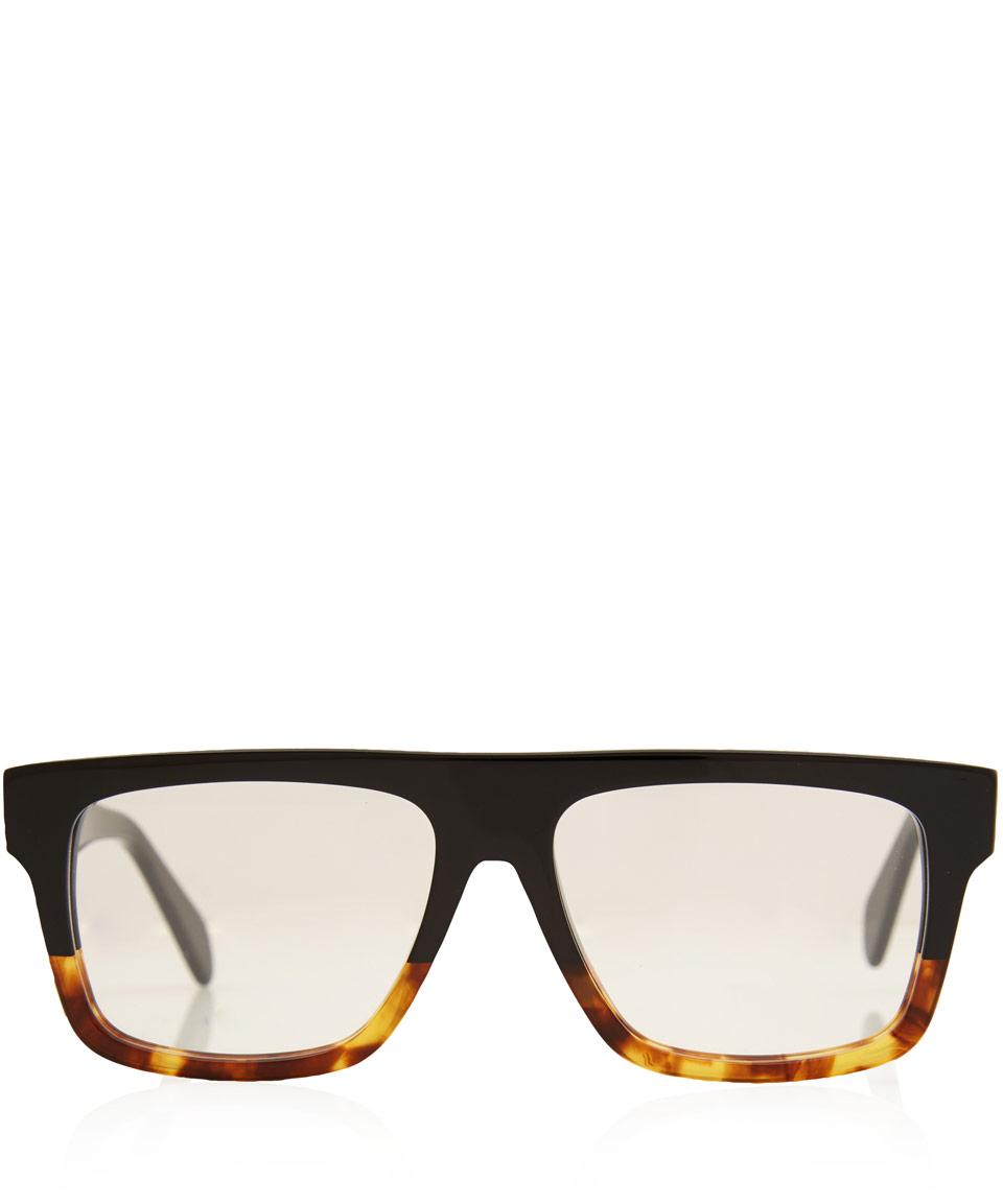 ef0147abaf7 Black Flat Top Celine Sunglasses