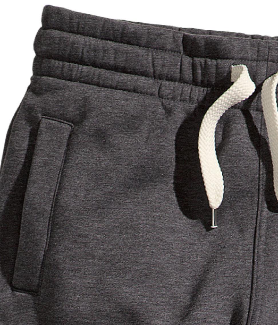 Lyst H Amp M Sweatpants In Gray For Men