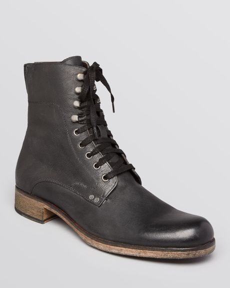 John Varvatos Bonham Boots In Black For Men Lyst