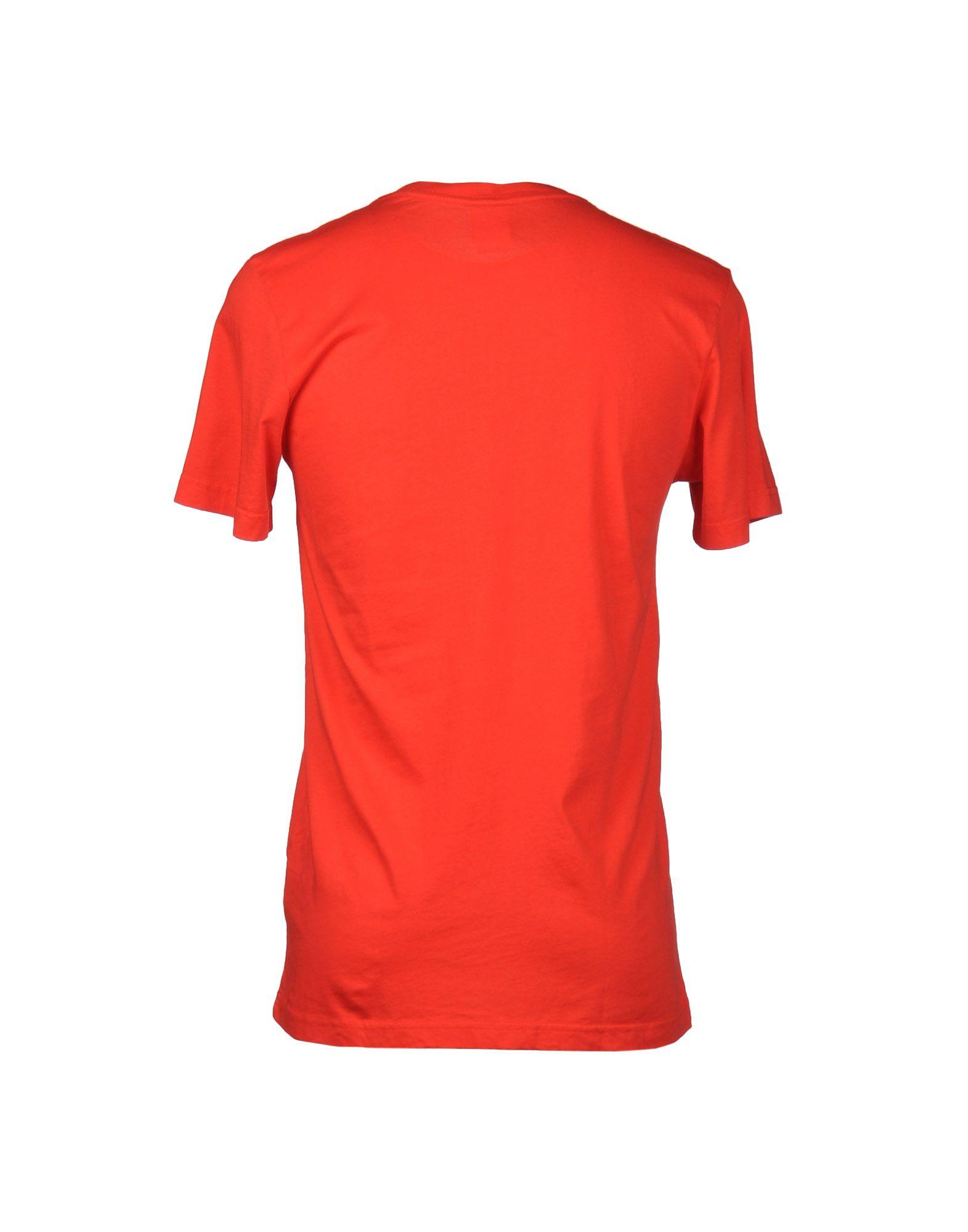 Nike short sleeve t shirt in red for men lyst for Nike short sleeve shirt