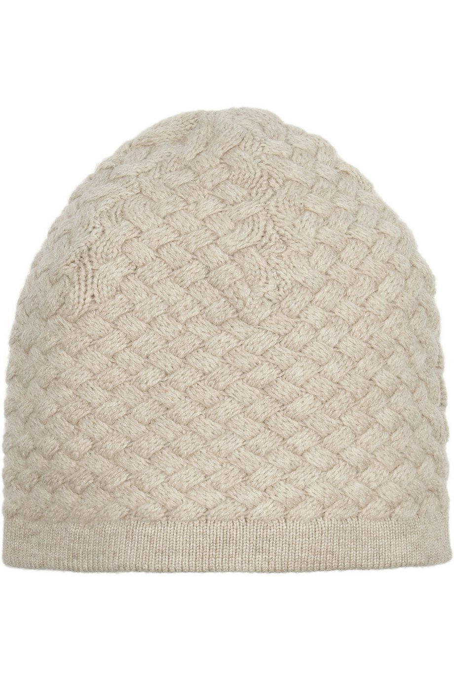 classic fitted beanie hat - Grey N.Peal fHXMkkfs6g