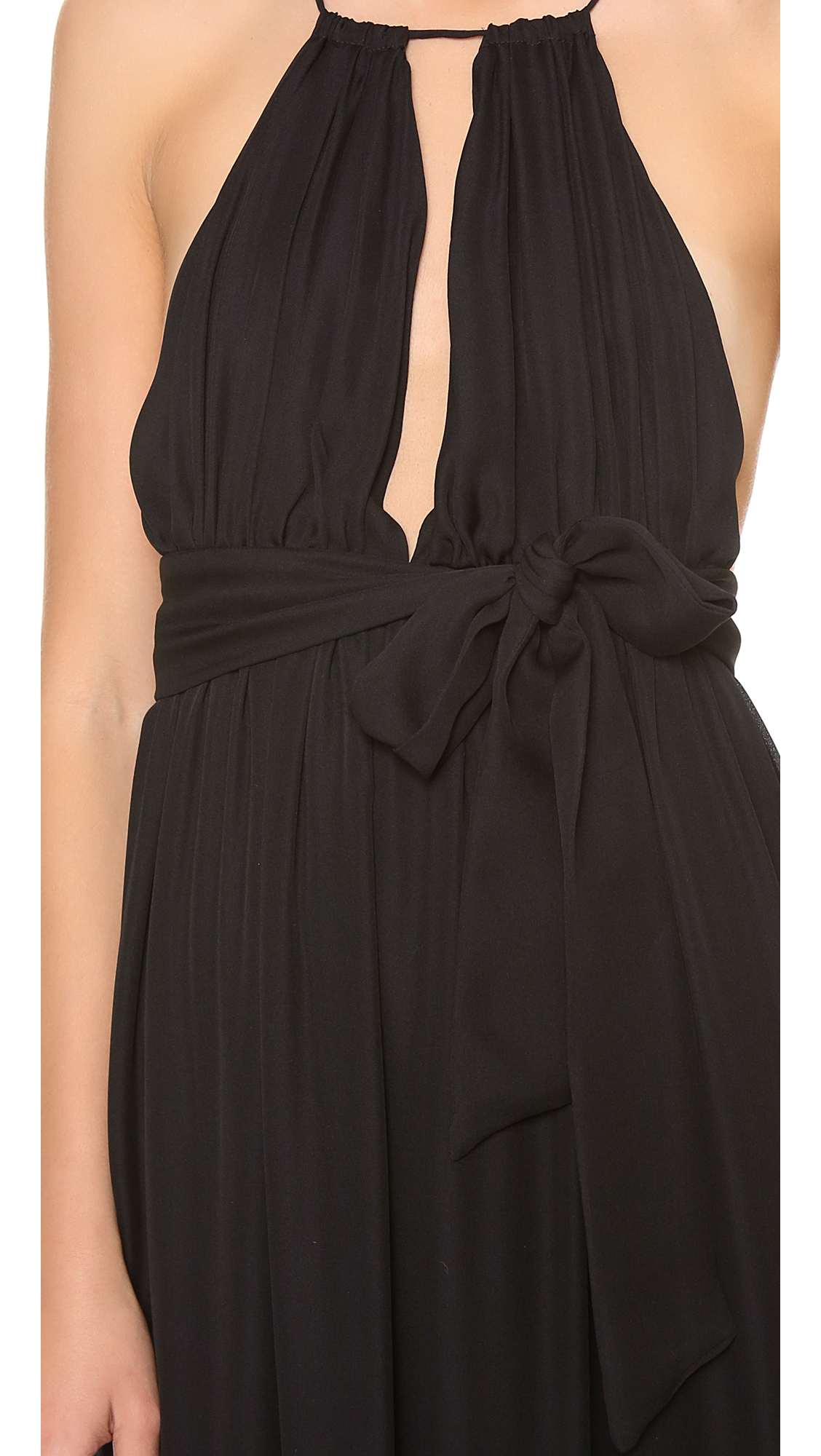 Lyst - Ramy Brook Milan Gown In Black-8303