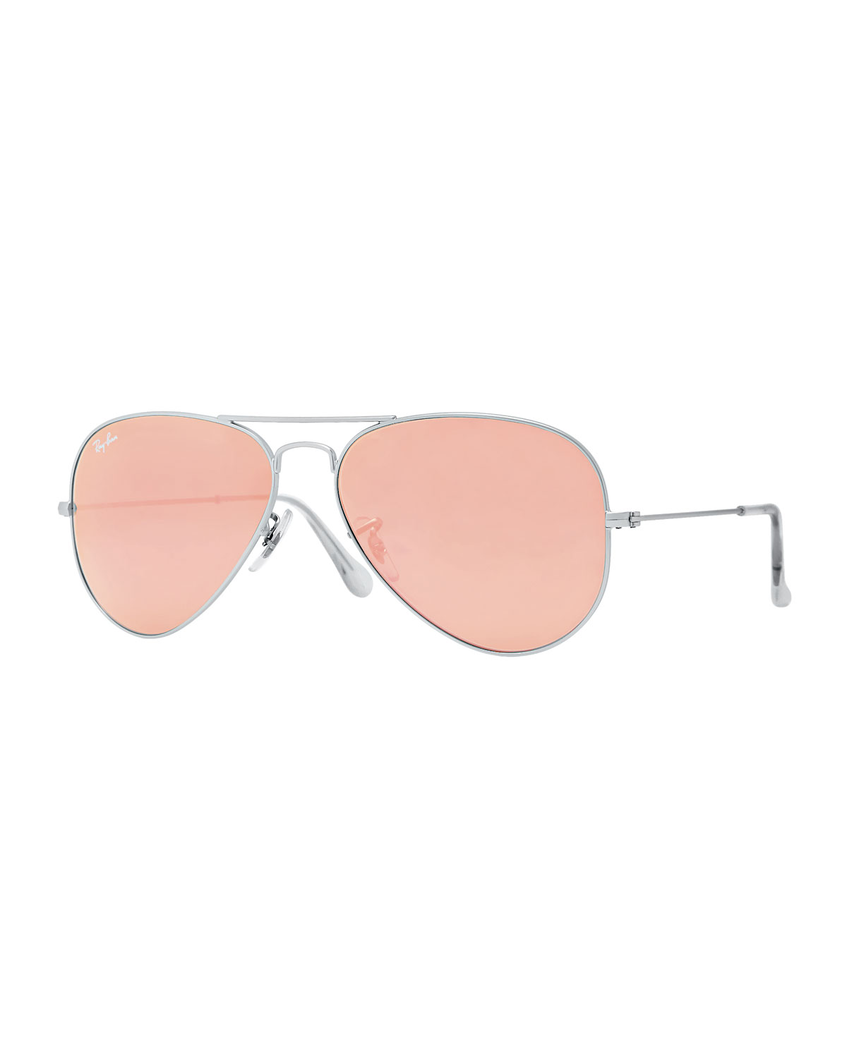 ray ban reflective aviators