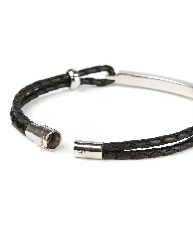 Ted Baker Identib Bar Detail Bracelet In Black For Men Lyst