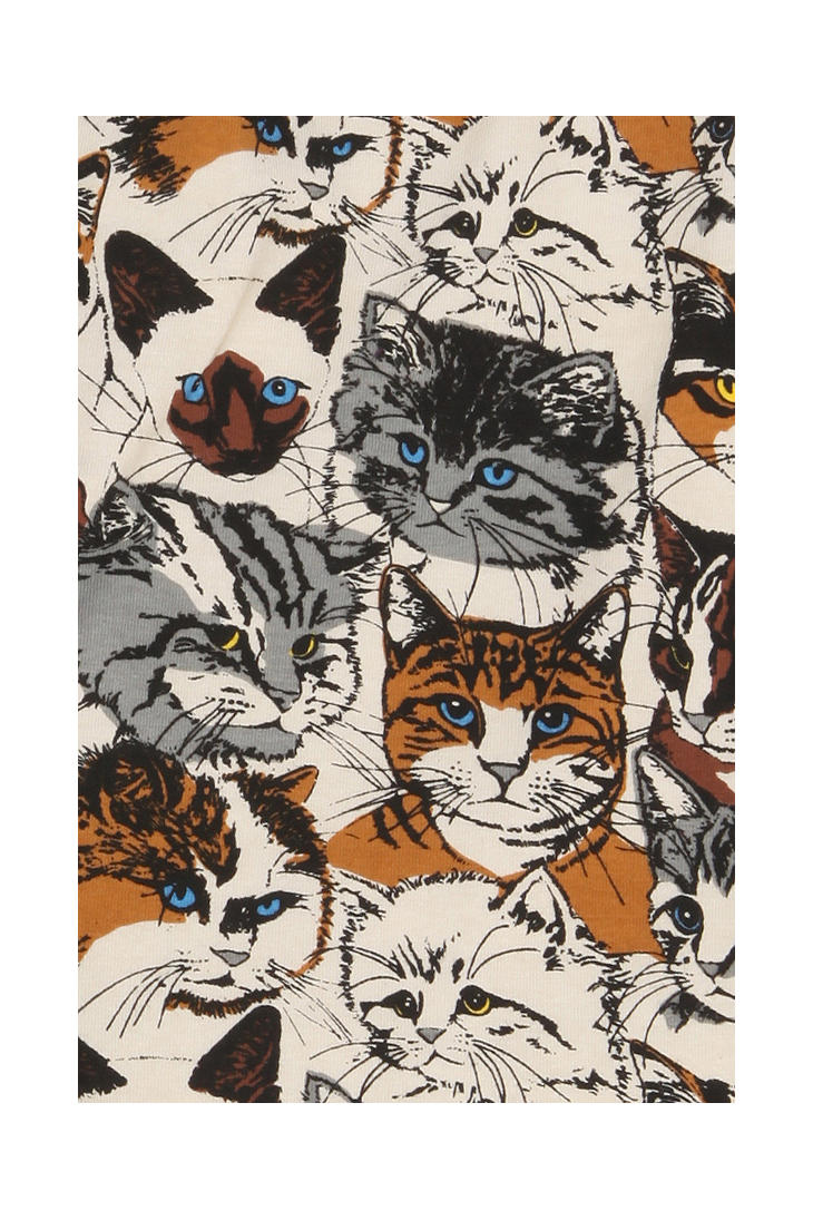 lyst urban outfitters wallpaper cats boxer brief for men. Black Bedroom Furniture Sets. Home Design Ideas