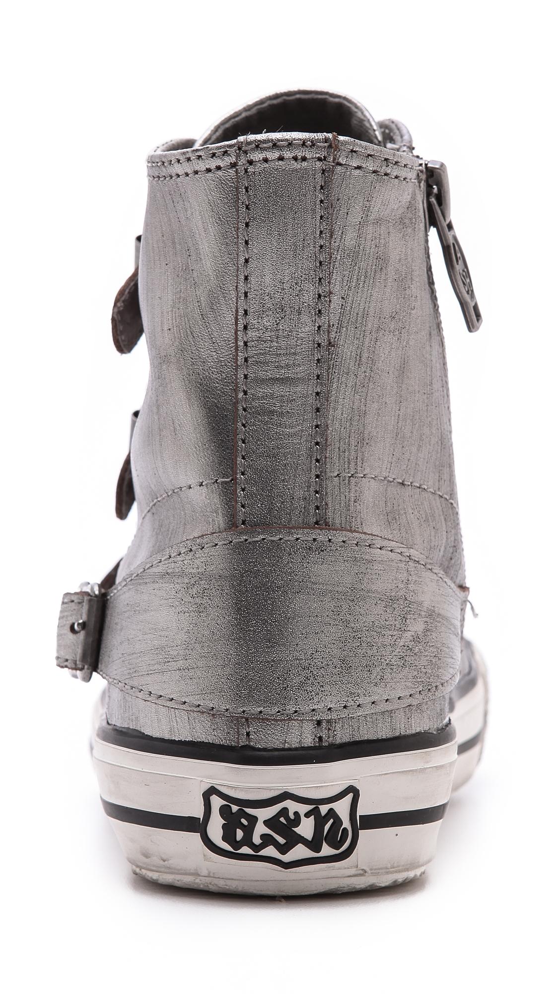 Ash Virgin High Top Sneakers in Grey