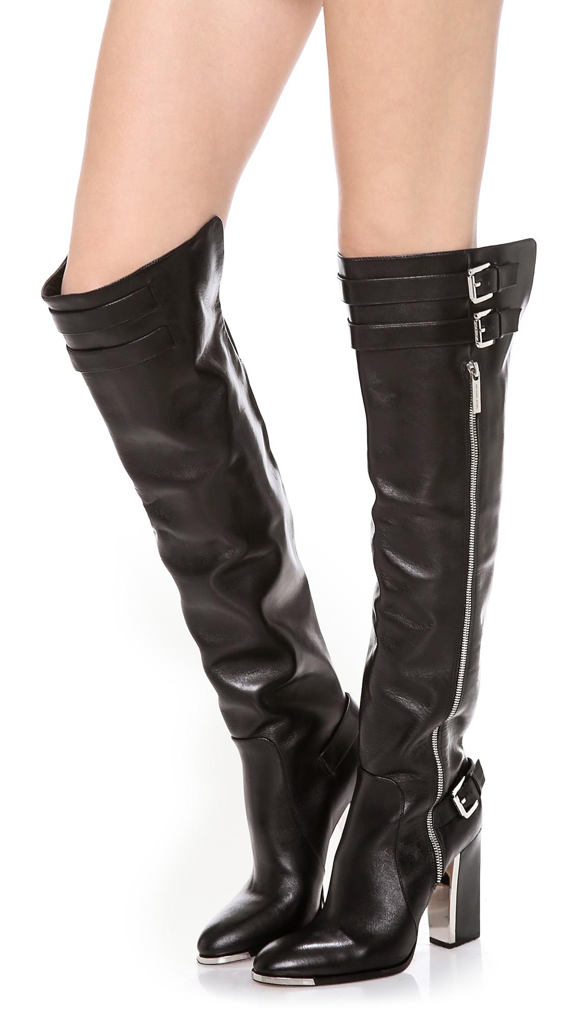 Michael Kors Jayla Tall Boots in Black