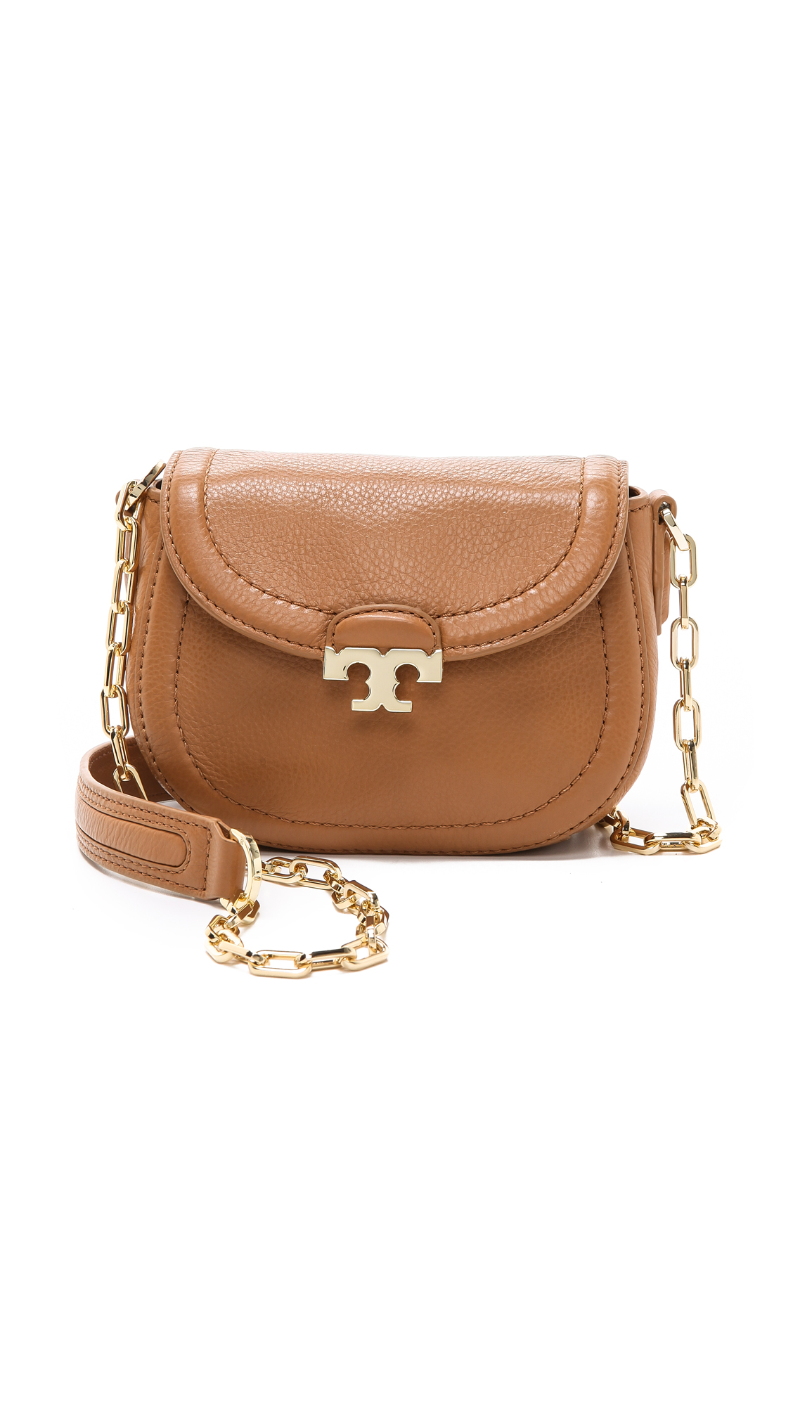 7555d2238da6 Lyst - Tory Burch Sammy Cross Body Bag in Brown