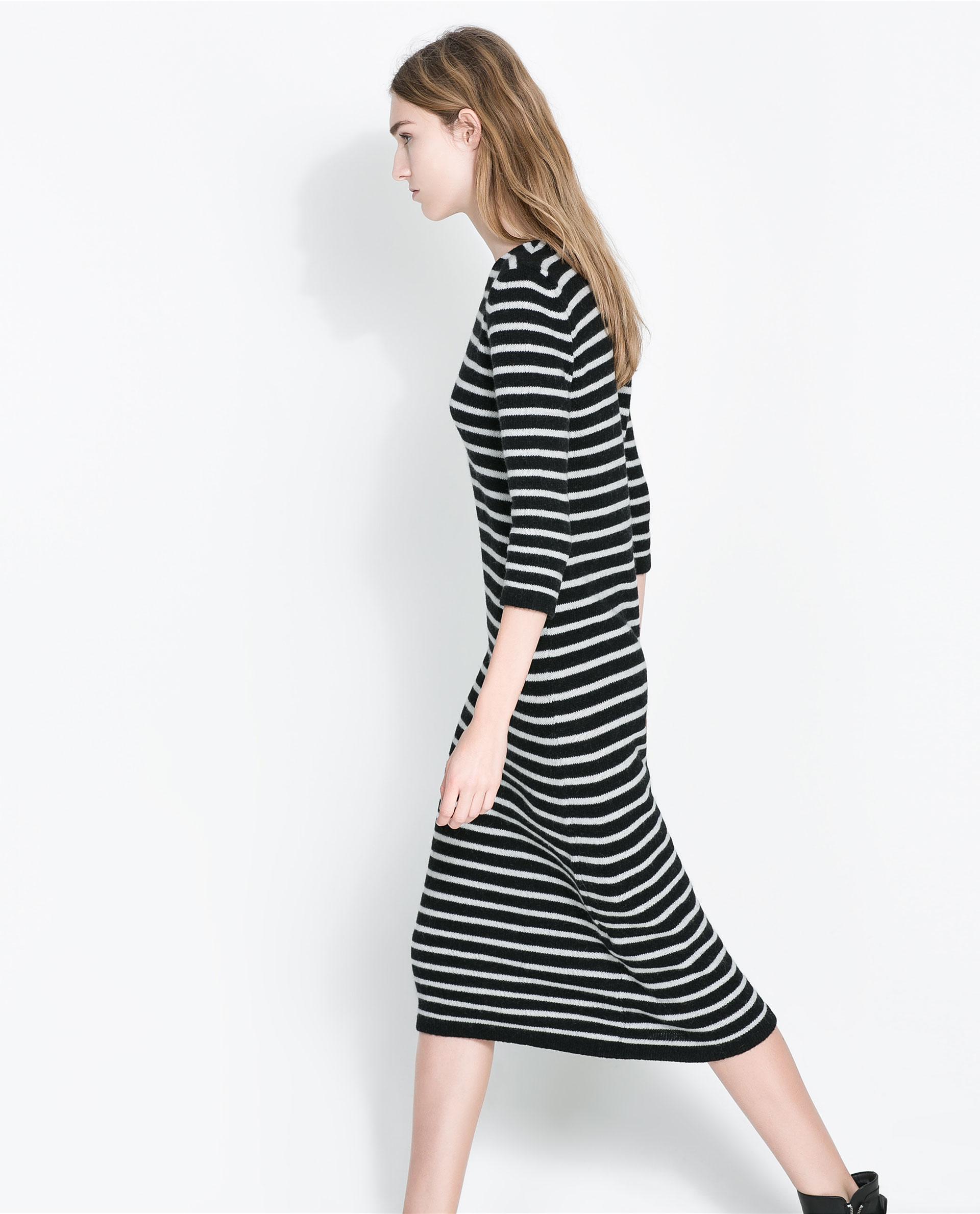 Stripe Dress Zara 2013