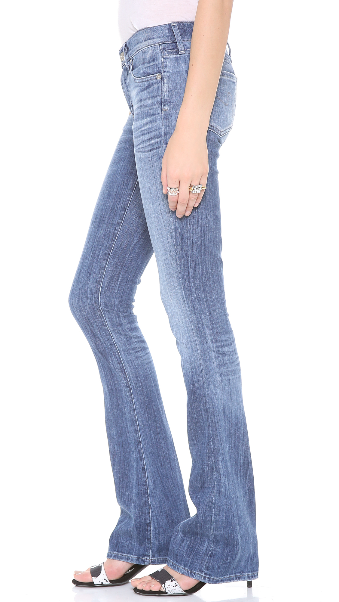 Citizens of Humanity Emannuelle Slim Bootcut Jeans in Blue
