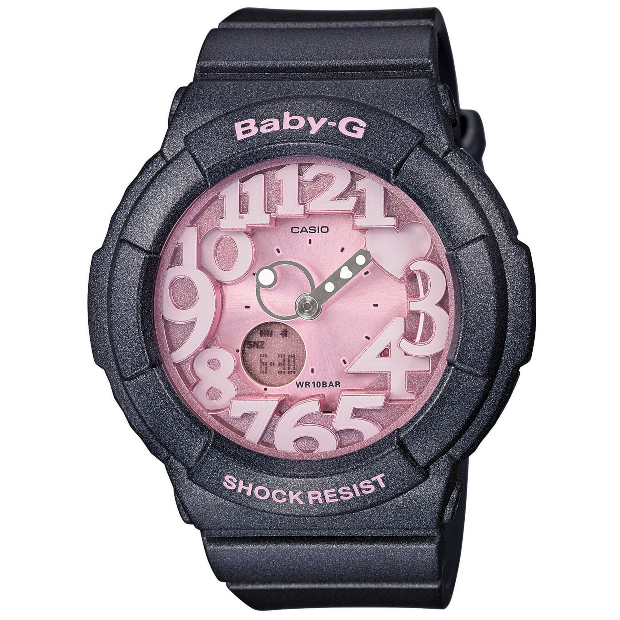 Lyst - G-Shock Babyg Womens Analogdigital Gray Resin Strap Watch ... 6d8b03e86f