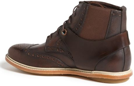Tsubo Winslow Ii Wingtip Boot In Brown For Men Chestnut