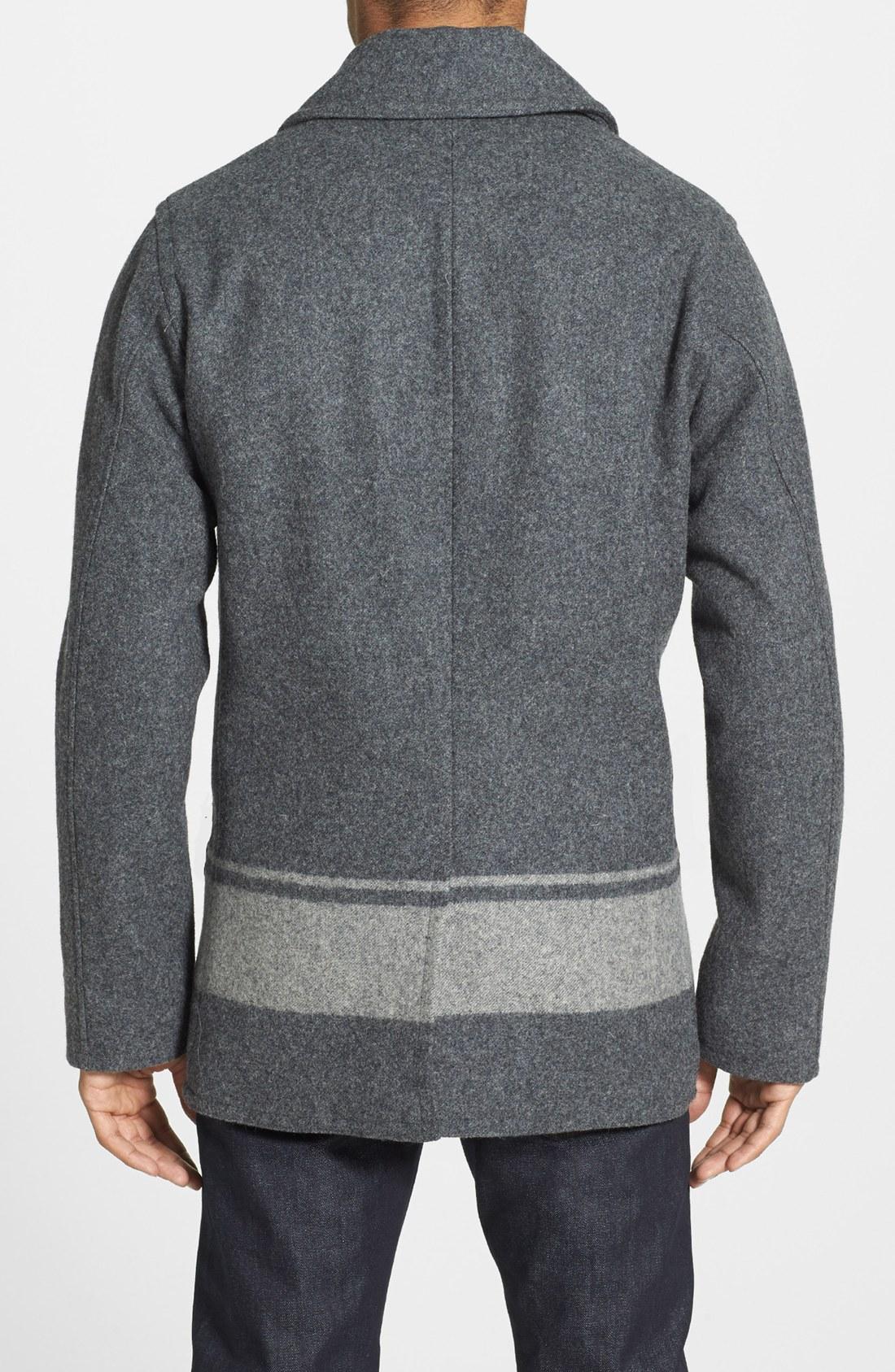 f93c9048653 Woolrich dockworkers peacoat blizzard jas prezzo akabe funk waregem jpg  1100x1687 Woolrich dock coat