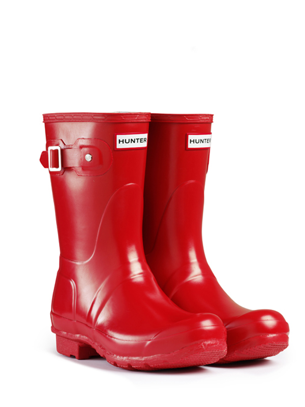Short Red Rain Boots - Boot Hto
