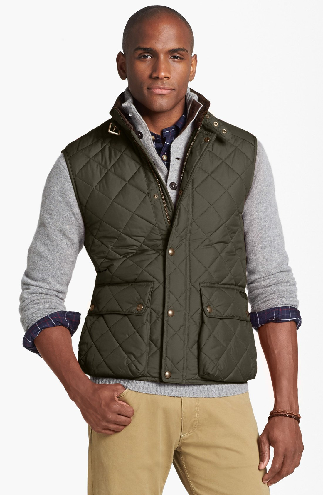Polo Ralph Lauren Epson Quilted Vest In Green For Men Lyst