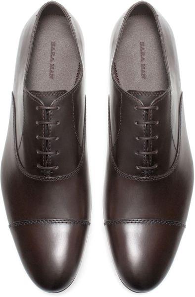Creative Zara Tricolor Brogue Oxford Shoe In Brown For Men Tricolour  Lyst