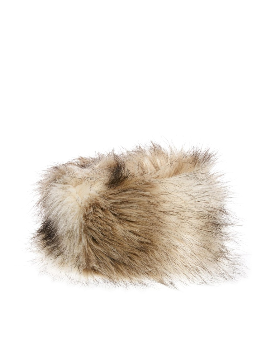 480fcf95ed0 Lyst - ASOS New Look Faux Fur Cossack Hat in Natural