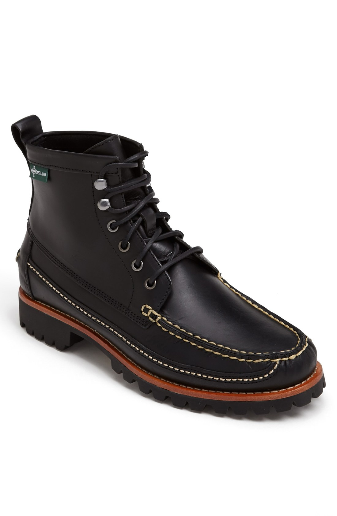 Eastland Franconia 1955 Moc Toe Boot In Black For Men
