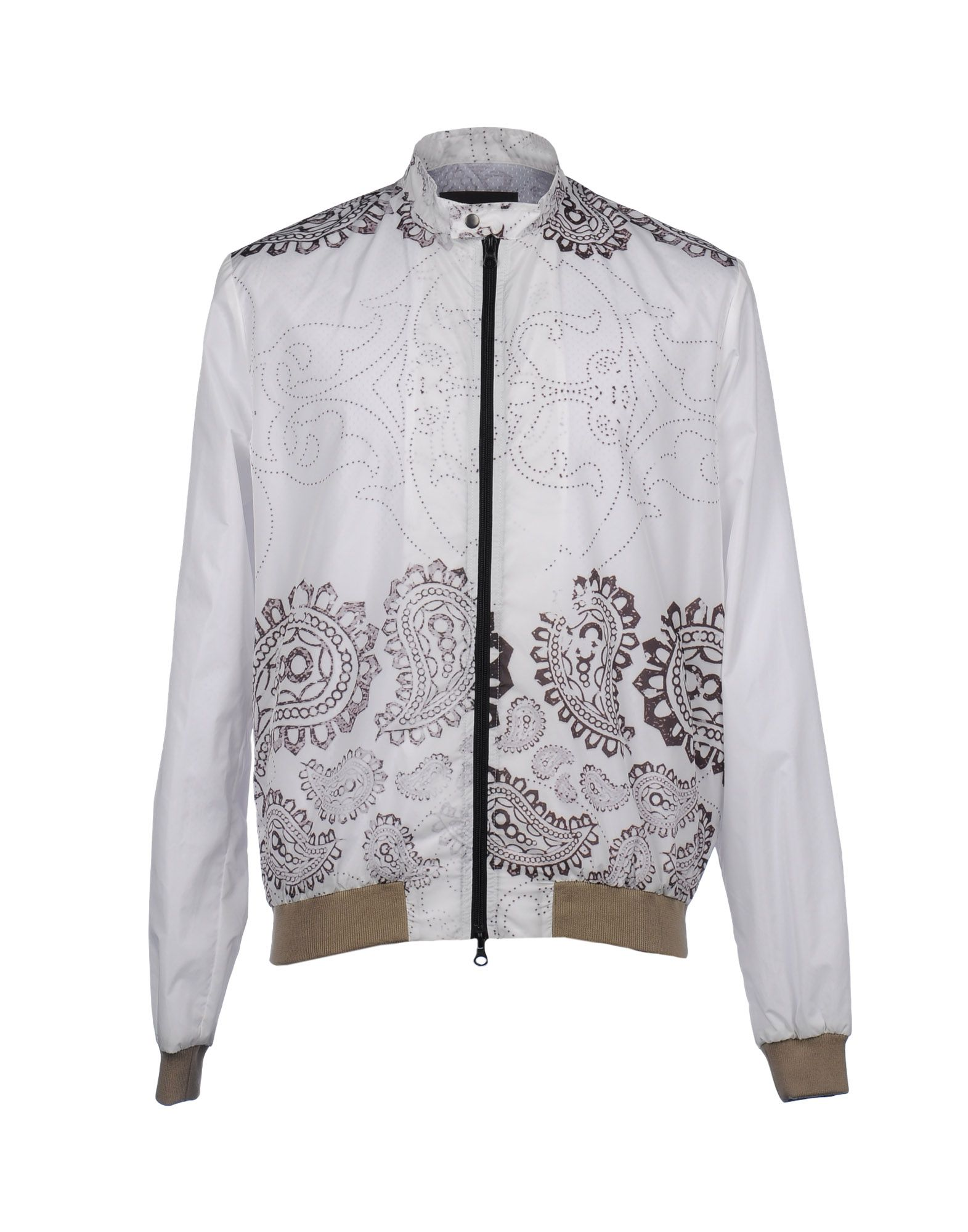 Fifteen And Half Jacket In White For Men | Lyst