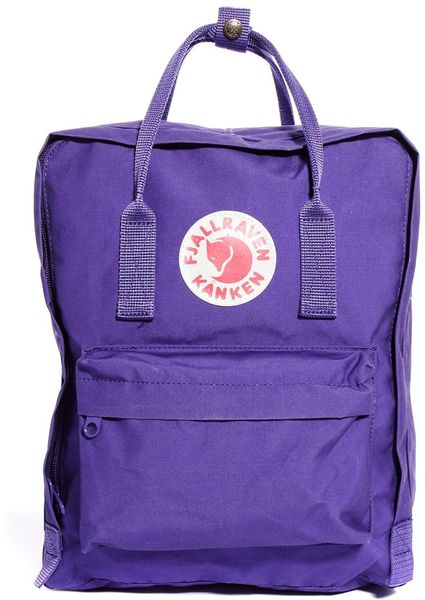 Fjallraven Kanken Backback in Purple   Lyst