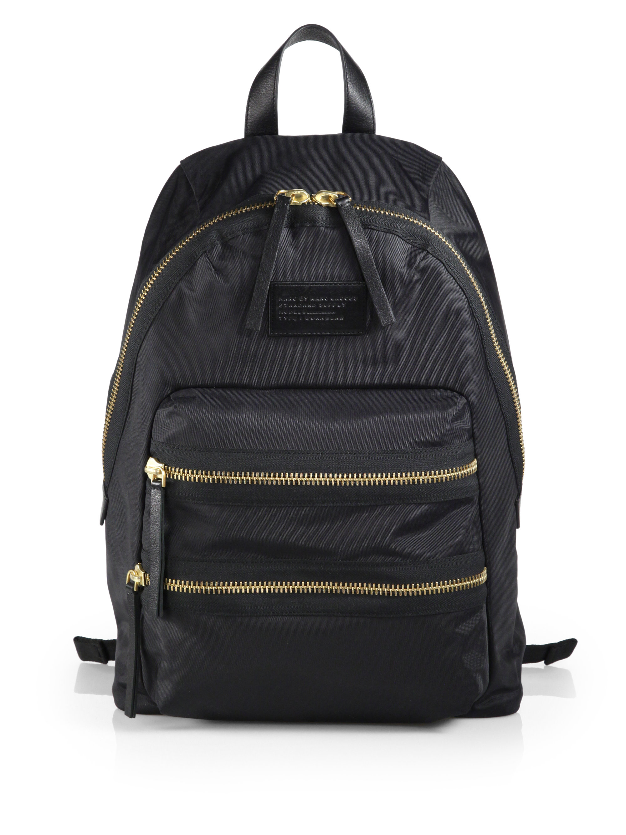 marc by marc jacobs 39 domo arigato 39 backpack in black lyst