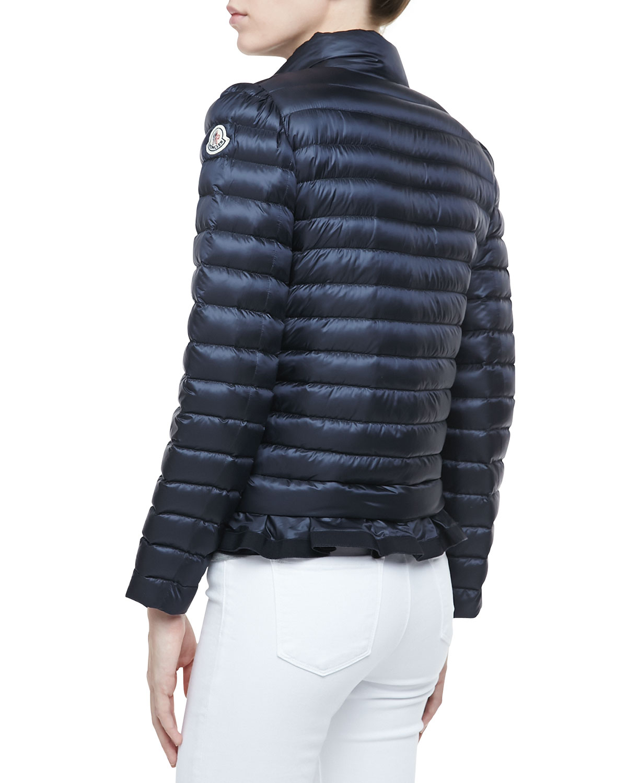moncler navy womens jacket