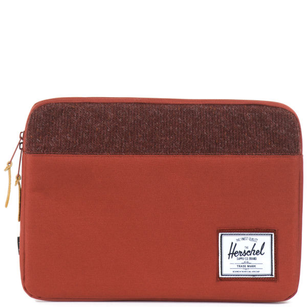 hot sale online 44320 ff189 Herschel Supply Co. Red Anchor 13 Inch Knitted Macbook Sleeve for men