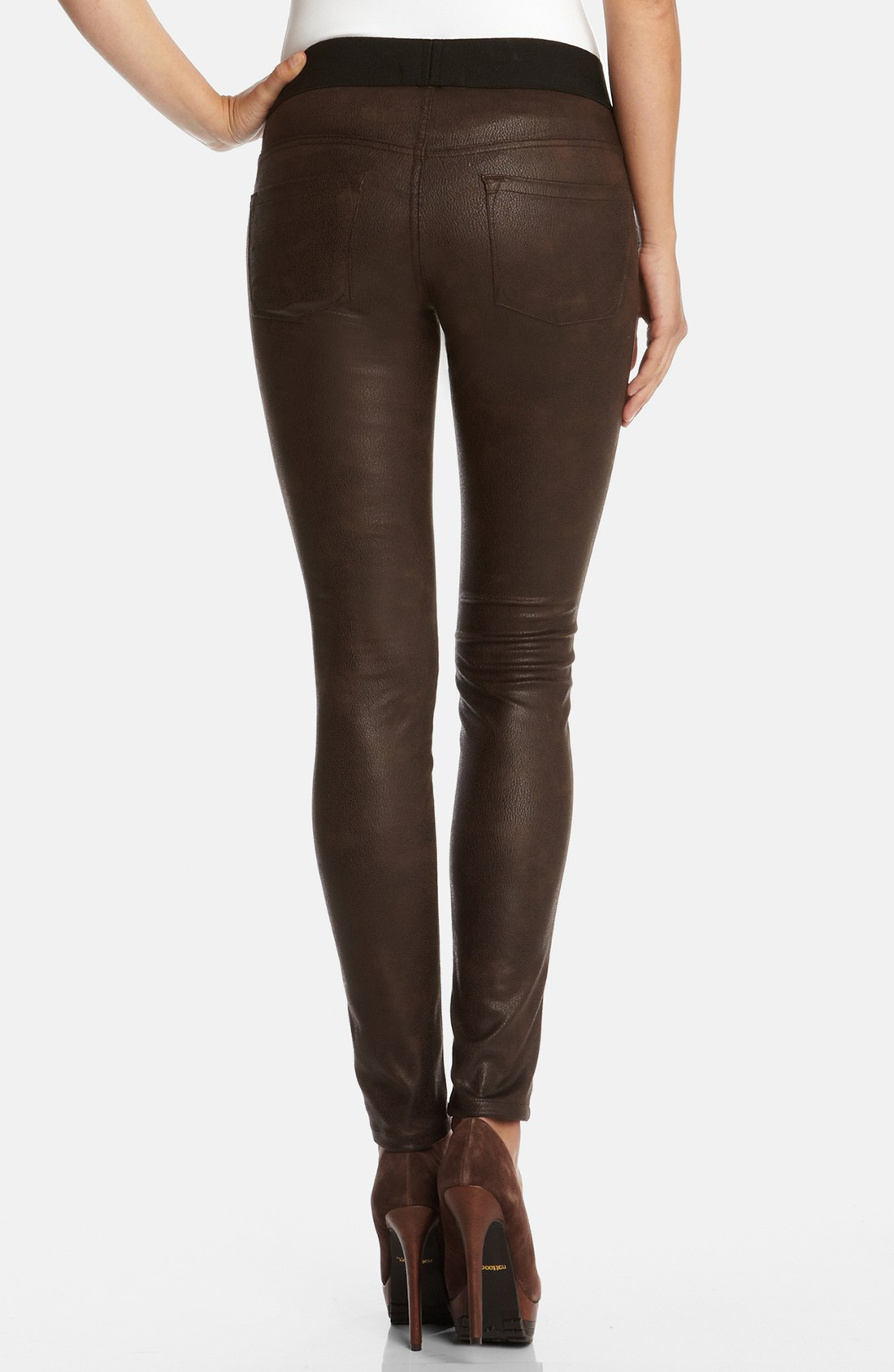 Womens Chocolate Brown Jeans