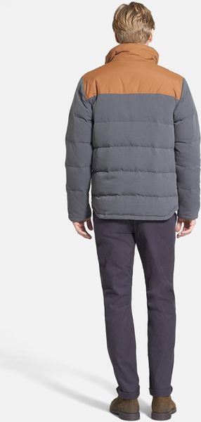 Patagonia Bivy Quilted Down Jacket In Gray For Men Forge