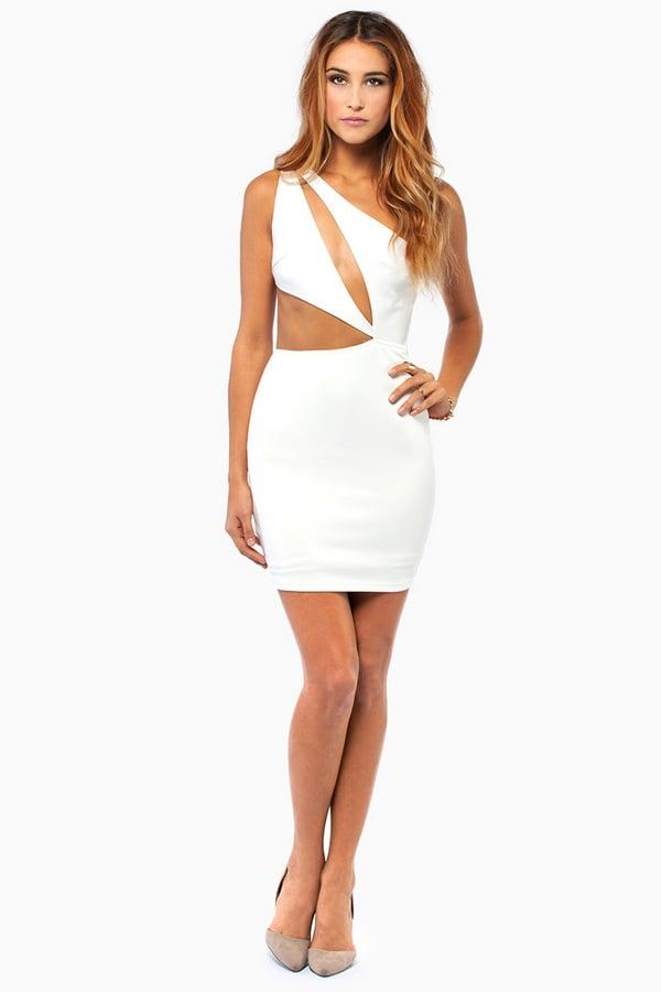 Tobi Rehab Clothing Let Her Be Dress In White Ivory Lyst