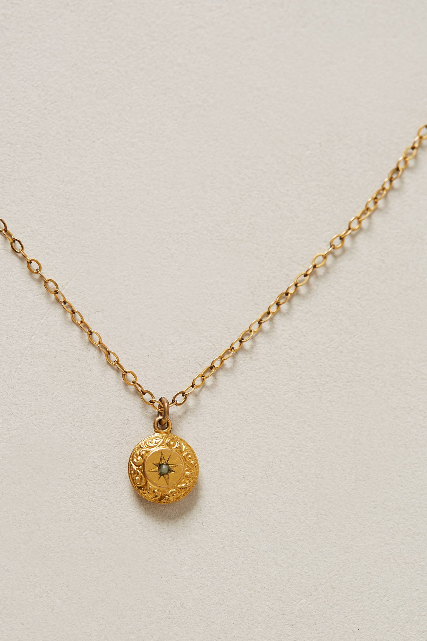 Lyst Anthropologie Etched Lumina Vintage Pendant
