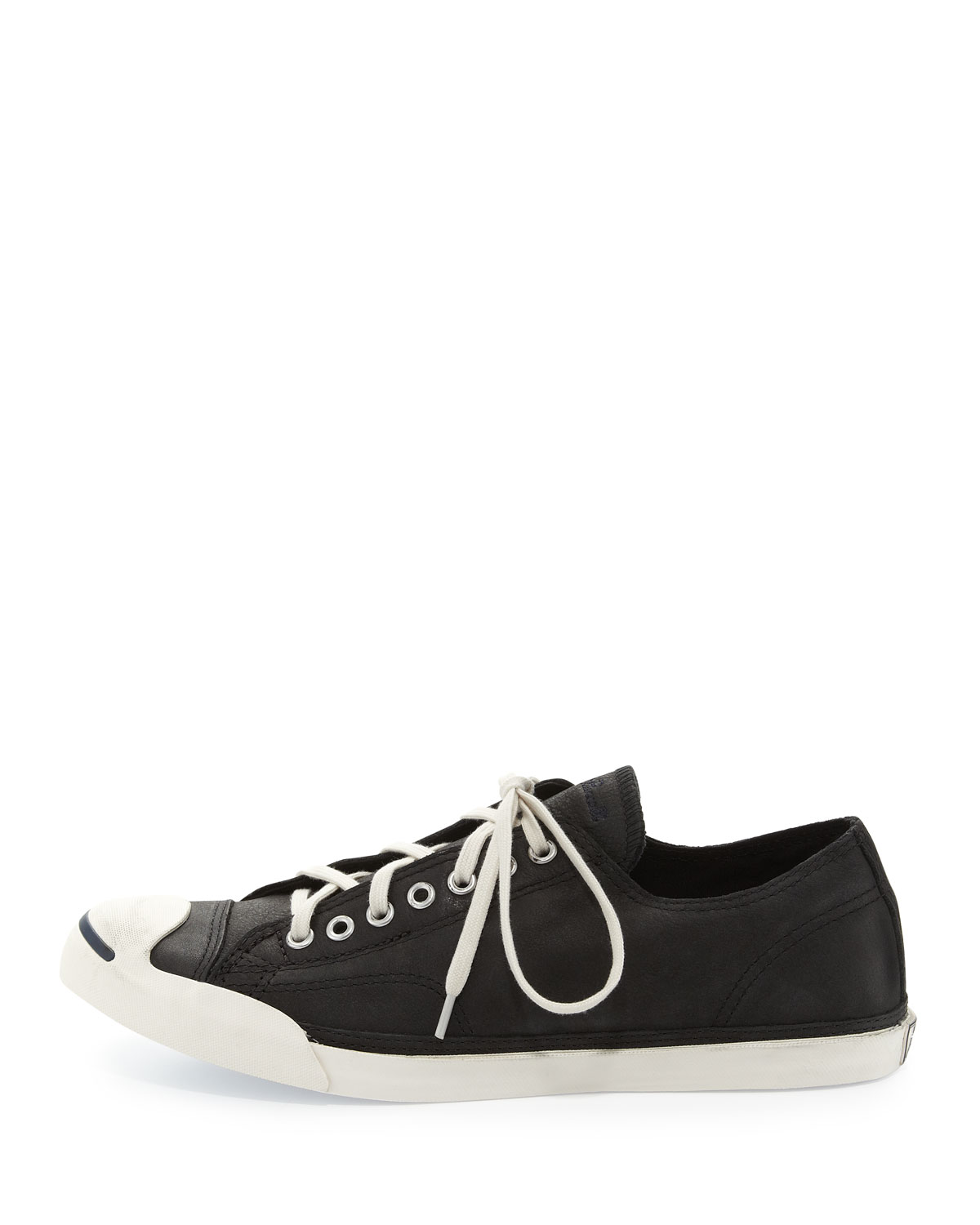 e677f003c6d0 Lyst - Converse John Purcell Leather Low-Top Sneaker in Black for Men