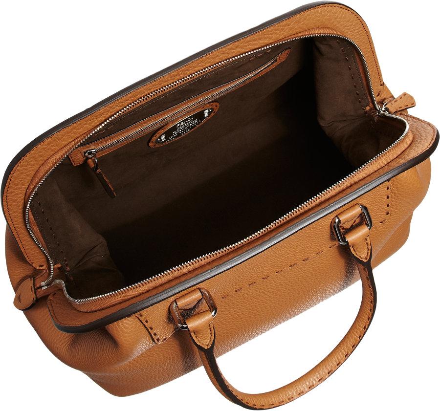 19d5720243 ... sale fendi large selleria doctor bag in natural lyst ddd31 8a772