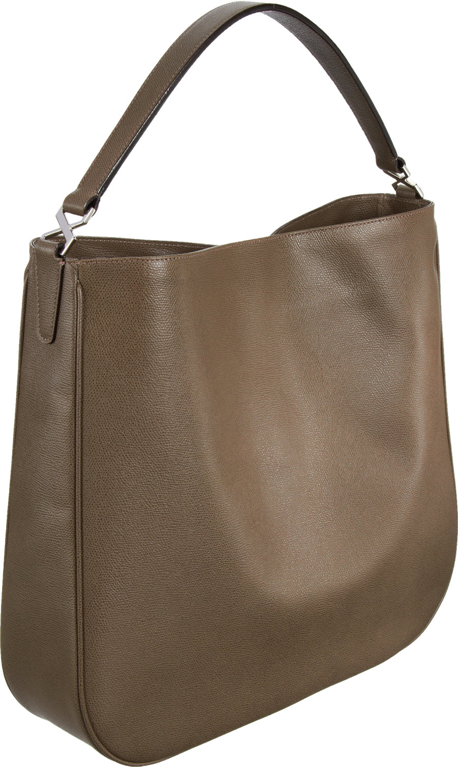 Valextra Smile Hobo Bag in Gray