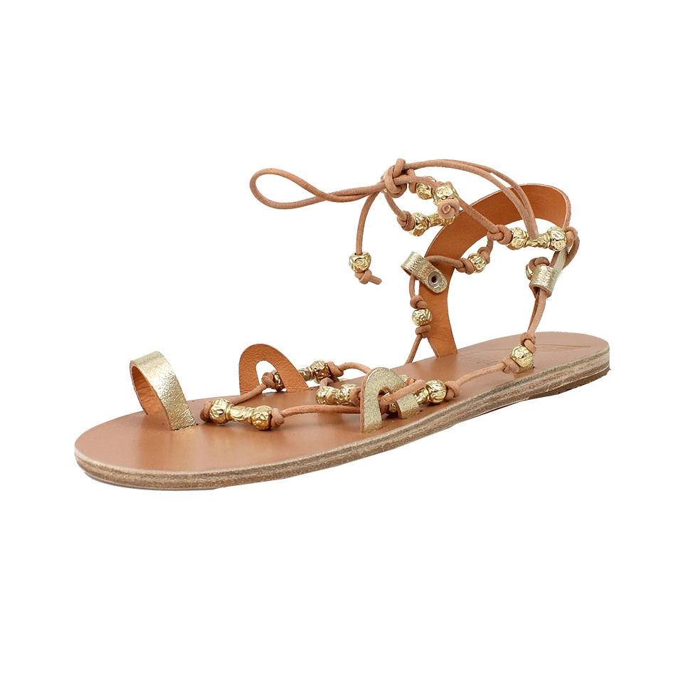 how to make ancient greek sandals