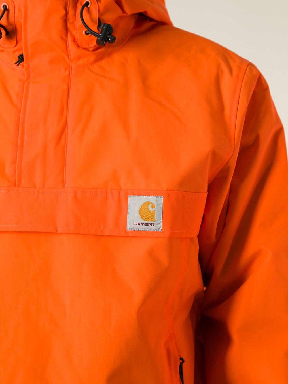 Carhartt Nimbus Pullover Jacket in Yellow & Orange (Orange) for Men