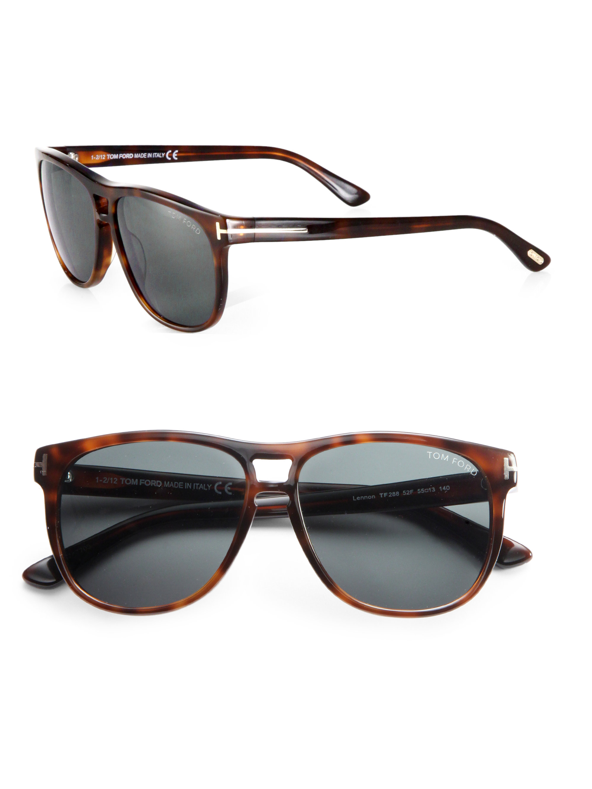 ee230024285 Tom Ford Callum Sunglasses in Brown for Men - Lyst