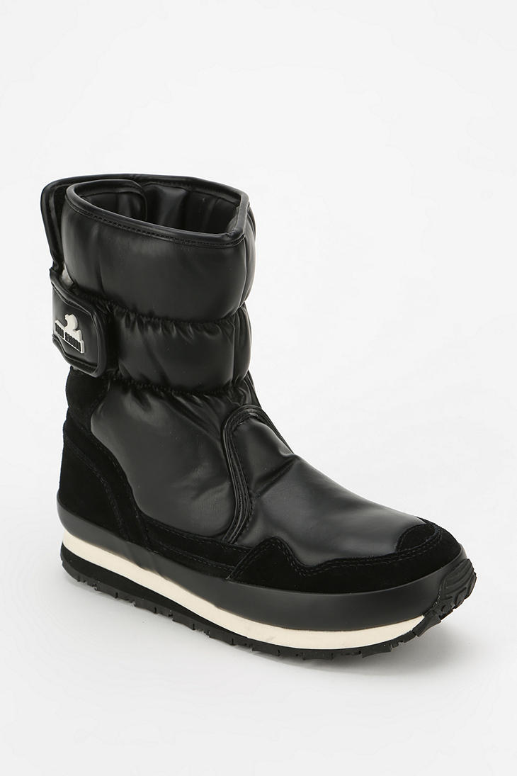Lyst - Urban Outfitters Rubber Duck Snow Boot In Black-3569