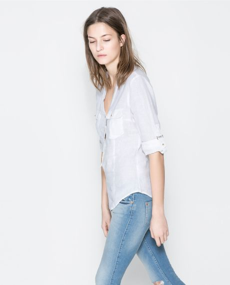 Zara Linen Blouse 53