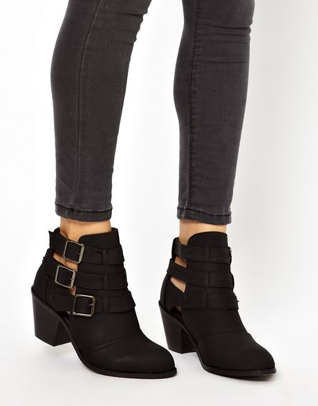 Find great deals on eBay for black heeled ankle boots. Shop with confidence.