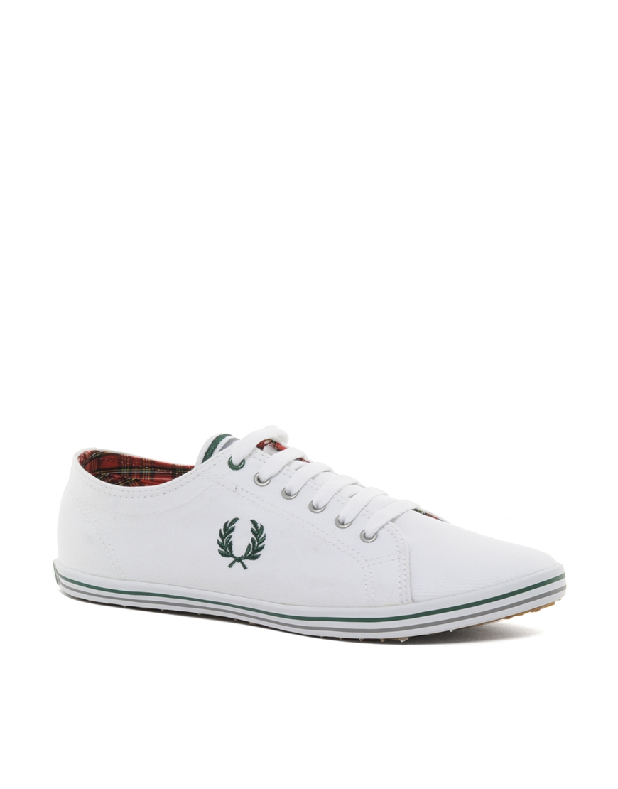 Fred Perry Kingston Shoes White